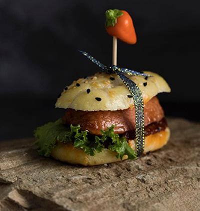 آموزش پخت همبرگر