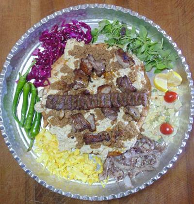 سینی کباب در سمنان