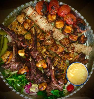 سینی کباب مخصوص