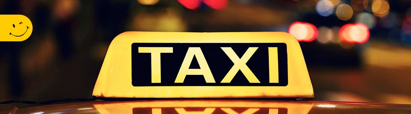 بنر تاکسی تلفنی سبز