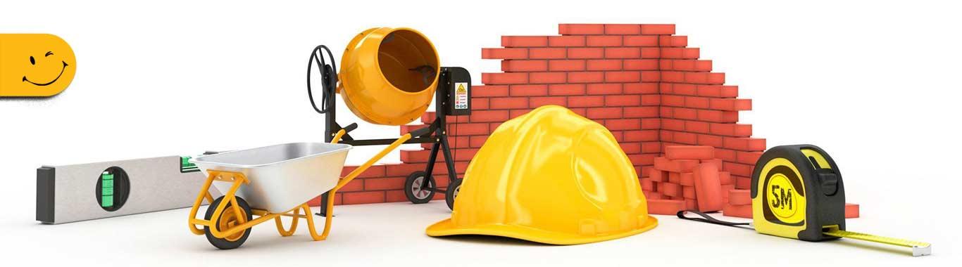 بنر مصالح ساختمانی پردیس