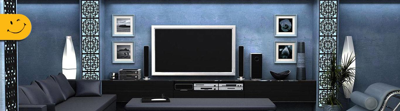بنر مرکز تعمیرات تخصصی انواع لوازم صوتی و تصویری پلاسما