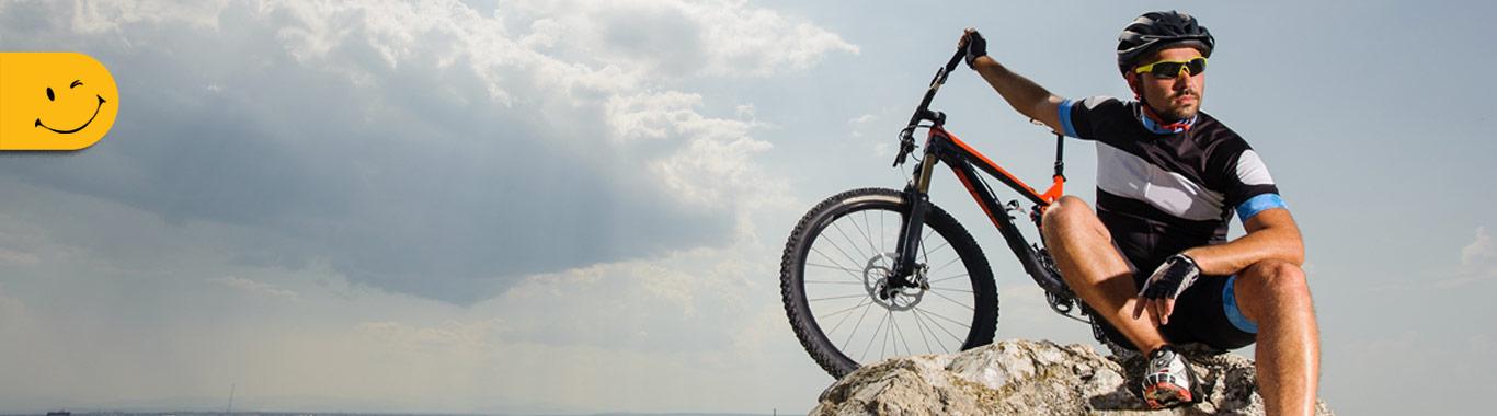 بنر دوچرخه ی کوهستان